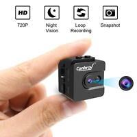 Spy Cam 720P Night Vision Spy Camcorder Loop Record Motion Detect Nanny Cam IR