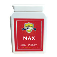 "BIGGER PENIS PILLS ULTIMATE MAX - GROW 3"" in 60 DAYS - MALE ENHANCEMENT PILLS"