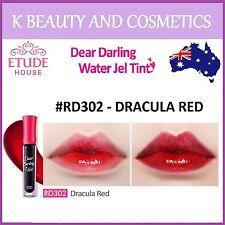 [Etude House] Dear Darling Water Gel Tint (#RD302 DRACULA RED) *NEW 2017* 4.5g
