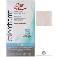 Wella T18 Lightest Ash Blonde Color Charm Toner 1.4 oz