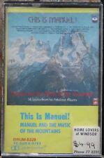 THIS IS MANUEL           CASSETTE TAPE     (RETRO)      (TC-SOEX-9783)      (94)
