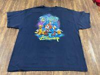 2009 Walt Disney World/Land Men's Blue T-Shirt - 2XL