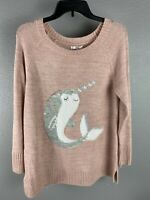Lauren Conrad Womens Sweater Size Medium Retail $ 50 Pink