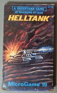 Helltank : A Supertank Game (Microgame 19). 1981, Complete