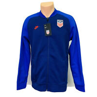 Nike USA Soccer Team  (Men's Size S) Athletic Track Bomber Athletic Jacket