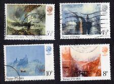 Great Britain: SG971-974; Birth Bicent. of Turner (Artist); compl. fine used set