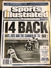 September 24, 2018 Bucky Dent Yankees vs Red Sox '78 Sports Illustrated NO LABEL