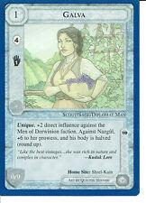 MIDDLE EARTH BLUE BORDER PREMIER RARE CARD GALVA