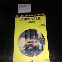 il giallo mondadori epitaffio ATT tascabile