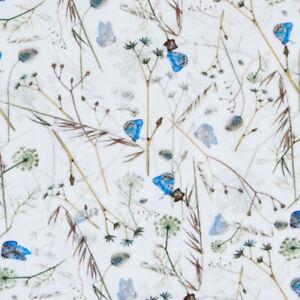 Baumwolljersey Digitaldruck Schmetterlingswiese (Preis=)