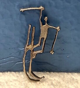Carl Aubock 1994 Olympic 925S Pendant ~ Lillehammer Olympic Organizing Committee