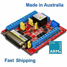 6 Axis Breakout Board + VFD Support for Mach3 CNC Stepper Servo - Machdrives AU