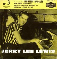CD SINGLE Jerry Lee LEWIS Soundtrack Jeunesse Droguée High School Confidential