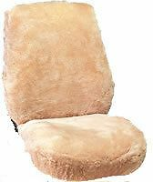 Soft Warm Luxurious Australian Sheepskin bucket (2 Qty) seat cover hi or lowback