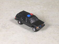 N Scale 1997 Secret Service Black Suv