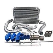 CXRacing Intercooler Kit For 94-97 Ford F250 F350 Super Duty Diesel 7.3L Blue