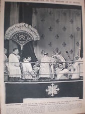 Photo article pope Pius XII crowned as pope Vatican 1939