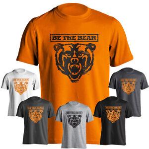 Mercer University Bears MU Be The Bear Distressed Graphic Short Sleeve T-Shirt