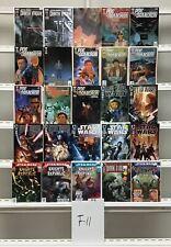 Star Wars Marvel 25 Lot Comic Book Comics Set Run Collection Box