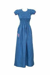 Light Blue Classic Denim Dress
