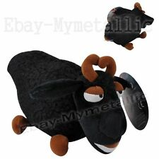 "How To Train Your Dragon Sheep 20cm / 8"" Soft Plush Stuffed Doll Toy Black"