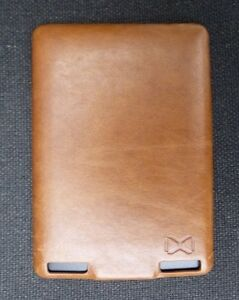Leather Cover for Kindle Touch Hardshell case jacket Reversible £19.99rrp