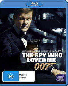 The Spy Who Loved Me - James Bond 007 - Action - Roger Moore - NEW Blu-Ray