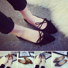 Spring Women Ladies Boat Shoes Casual Flat Ballet Slip On Loafers Single Shoes