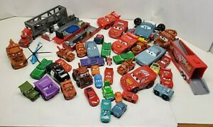 Disney Pixar Cars Metal and Plastic most made by MATTEL Lot of 40+