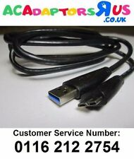 USB Cable Lead for WD My Passport 2TB WDBY8L0020BBK-01 same as 4064-705107-000
