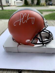 Jadeveon Clowney autographed Cleveland Browns Signed Mini Helmet JSA COA RARE