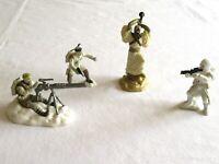 Lot Star Wars Mini Miniature Hoth Figure Snowtrooper 2006 2007 Figure Hasbro LFL