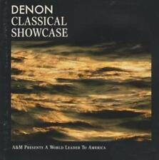 Denon Classical Showcase PROMO w/ Artwork MUSIC AUDIO CD Vivaldi, Bach, Mozart +