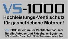 NEU! Ventilschutz Additiv Gasbetrieb oder Bleiersatz LPG CNG Lpi - 2 x VS-1000