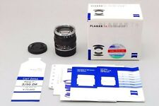 N MINT in BOX Carl Zeiss Planar T 50mm F2 ZM schwarz Leica M Mount aus Japan #535