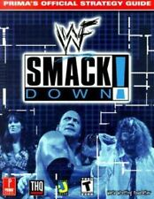 WWF SMACKDOWN PRIMAS OFFICIAL STRATEGY GUIDE By Kolmos Keith **Mint Condition**
