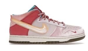 Nike Dunk Mid Social Status Free Lunch Strawberry Milk DJ1173-600 Mens Size 10.5