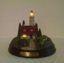 "Thomas Kinkade Seaside Memories - ""Clearing Storms"" Lighted Lighthouse"