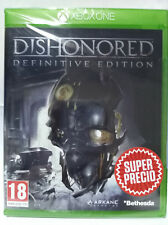 DISHONORED DEFINITIVE EDITION. JUEGO PARA XBOX ONE. NUEVO, PRECINTADO.