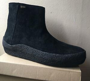 Clarks Originals Men's Jez Curve Black Suede Warm Boots UK 10.5 G EU 45