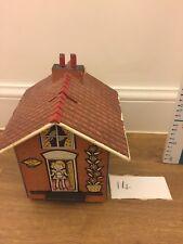 Vintage Wooden  House Secret Puzzle Box Money Box