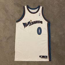 Gilbert Arenas Game Issued Washington Wizards Autographed Jersey Adidas NBA