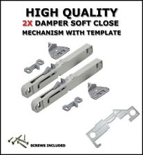 Soft Close Mechanism For All Roller Runners And Metal Box Drawer x2 + TEMPLATE