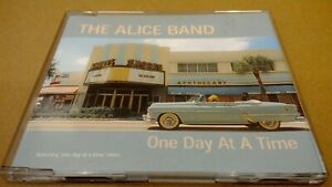 The Alice Band - One Day At A Time - UK 2001 Karma Emhanced CD Single (Box M)