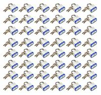 "40 mm Padlock - 48 pc keyed alike - 1-1/2 "" padlocks"