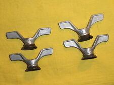 Set d'écrous papillon DFV,dural,9,5 mm,8,vélo ancien,peugeot,aviac,terrot,herse,