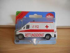 Siku Mercedes Spinter Ambulance in White on Blister