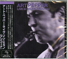 ART PEPPER-LIVE IN MILAN 1981-JAPAN CD E25
