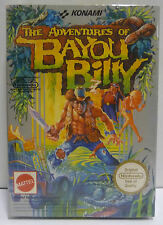 THE ADVENTURES OF BAYOU BILLY - NINTENDO NES - PAL A MATTEL ITA VERSION - BOXED