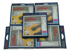 5 Sets Clear Nylon Classical Guitar String High Tension Strings Silver Wound